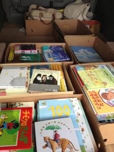 愛知県江南市へ絵本や児童書の出張買取
