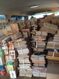 愛知県一宮市へ古本古雑誌の整理と買取。