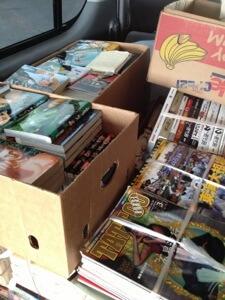 三重県多気郡へコミックセットと高校野球雑誌の出張買取