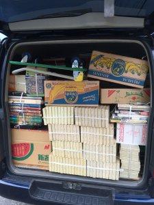 岐阜県恵那市で大型美術本、児童書などを大量に買取しました。