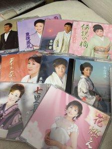 愛知県瀬戸市で演歌CDを出張買取しました。