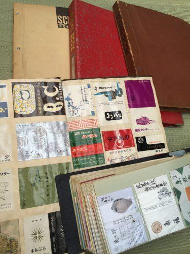 愛知県津島市でマッチラベル貼込帖などを出張買取しました。