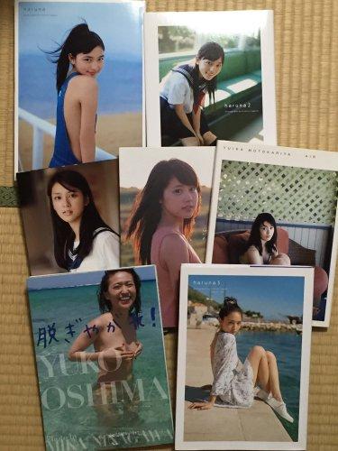 名古屋市中川区で川口春奈有村架純本仮屋ユイカ武井咲大島優子などの写真集を出張買取しました。
