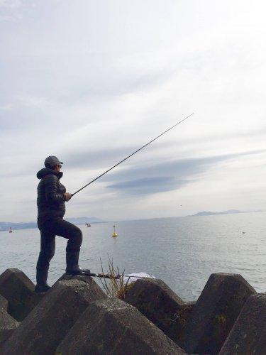 2017年釣り始め。