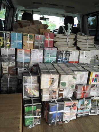 名古屋市天白区で単行本、CD、DVDなどを買取しました。