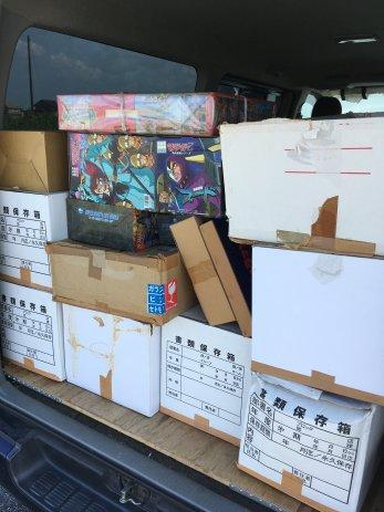 愛知県稲沢市でDVDやBlu-ray、フィギュアなどコレクション品を大量に買取しました。