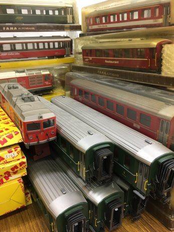 三重県四日市市でNゲージHOゲージOゲージなど鉄道模型を買取しました。
