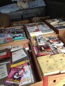 愛知県北名古屋市へコミックやライトノベルの出張買取