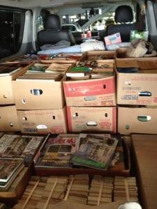 愛知県瀬戸市へ戦記物の文庫や単行本の出張買取