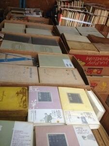 名古屋市西区へ全集や戦記物の単行本の出張買取