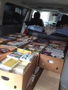 愛知県春日井市にて文庫本と漫画の出張買取