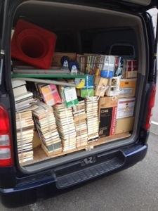奈良県大和郡山市へ単行本文庫本CDやDVDなどの出張買取