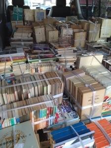 滋賀県守山市で全集や数学専門書、歴史書、図録などを買取しました。