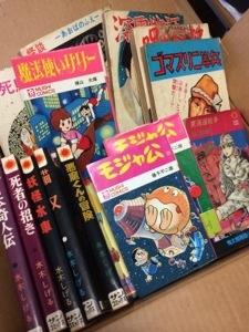 石川県加賀市で単行本、文庫本、絶版マンガなどを買取しました。