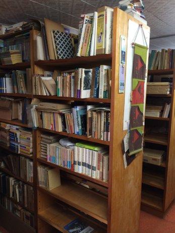名古屋市中村区で大量の古本買取。書庫の整理二日目。