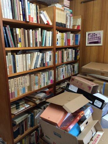 名古屋市中村区で大量の古本買取。書庫の整理最終日。