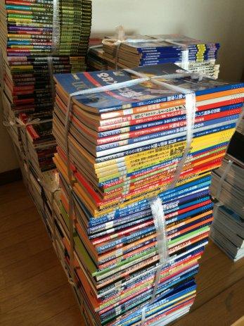 名古屋市南区でニュートン別冊や歴史群像などのムック誌を買取しました。