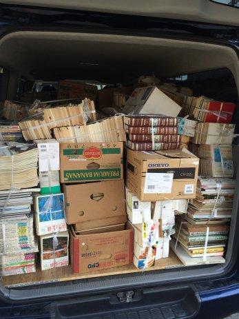 三重県亀山市で遺品整理に伴う古本の出張買取をしました。