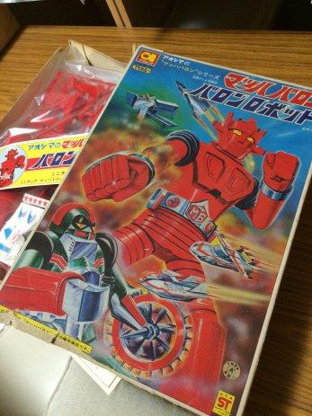岐阜県本巣市でマッハバロン未組立プラモやSF児童書などを買取しました。
