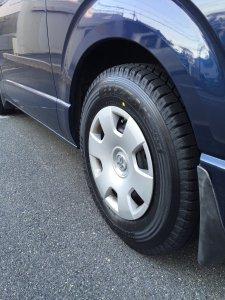 冬用タイヤに交換