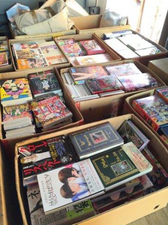 岐阜県各務原市で成年コミックやアニメDVDブルーレイなどを出張買取しました。