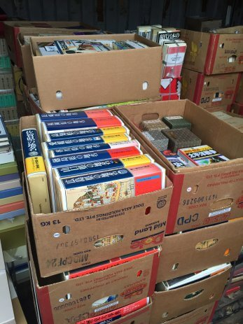 名古屋市守山区で神道、書道、絵手紙、俳句など、趣味の本をたくさん買取しました。