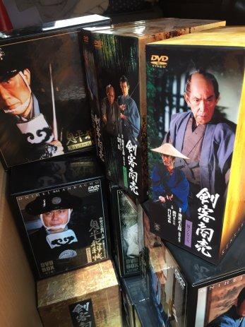 名古屋市千種区で将棋専門書、鬼平犯科帳DVD、剣客商売DVDなどを買取しました。