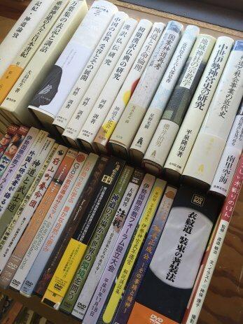 愛知県豊田市で神道、仏教などの専門書を買取しました。