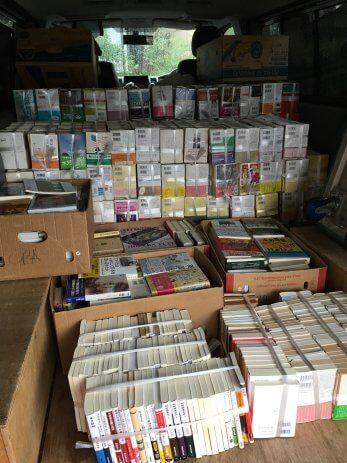 愛知県豊橋市で近年発行の文庫本や単行本を大量に買取しました。