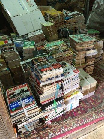 愛知県北名古屋市で遺品整理に伴う古本の出張買取(1回目)