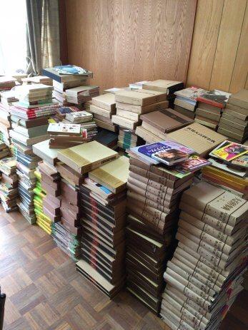 愛知県北名古屋市で遺品整理に伴う古本の出張買取(3回目)
