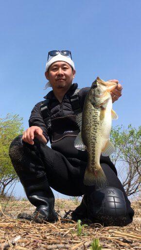 琵琶湖で釣ったブラックバス