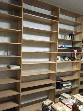 綺麗になった本棚