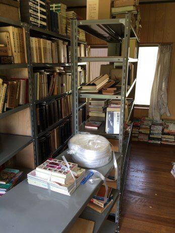 本棚の様子