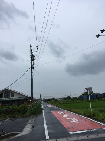 雨空の様子