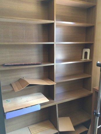 スッキリした本棚