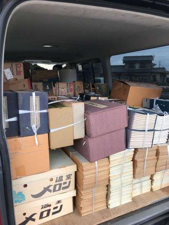 一宮市で買取した大量の書道本