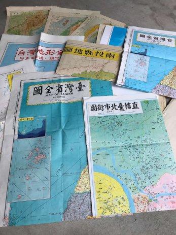 豊明市で買取した朝鮮や台湾の地図