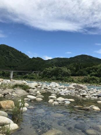 中津川市の風景