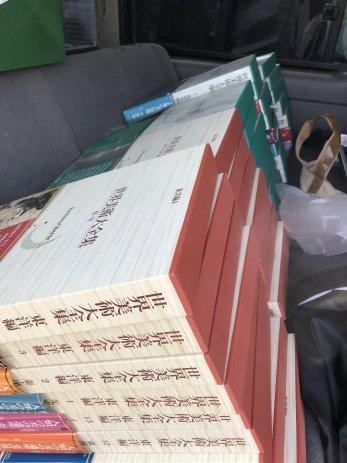 小松市で買取した世界美術大全集の西洋編と東洋編