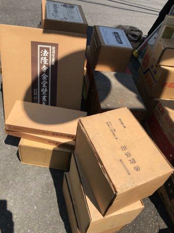 仏教美術本や大型美術本などを買取しました。【三重県伊賀市】二回目