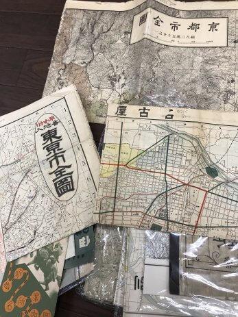 80年代の明星や東京市の地図などを買取しました。【奈良県香芝市】
