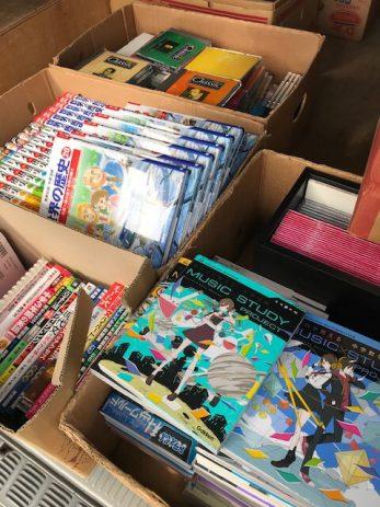 学習用入試用の教材やDVDなどを買取しました。【名古屋市中村区】