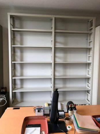 京都府にある大学の研究室から大量の蔵書を引き取りました。